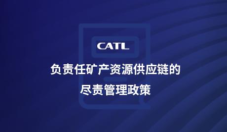 负责任矿产资源供应链的尽责管理政策