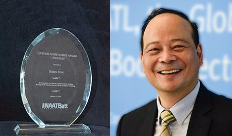 曾毓群董事长获美国国家先进技术电池联盟终身成就奖